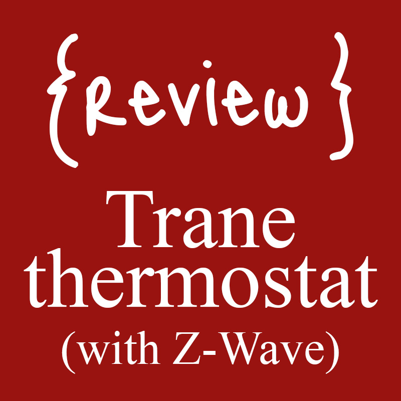 Review of Trane Remote Energy Management Thermostat