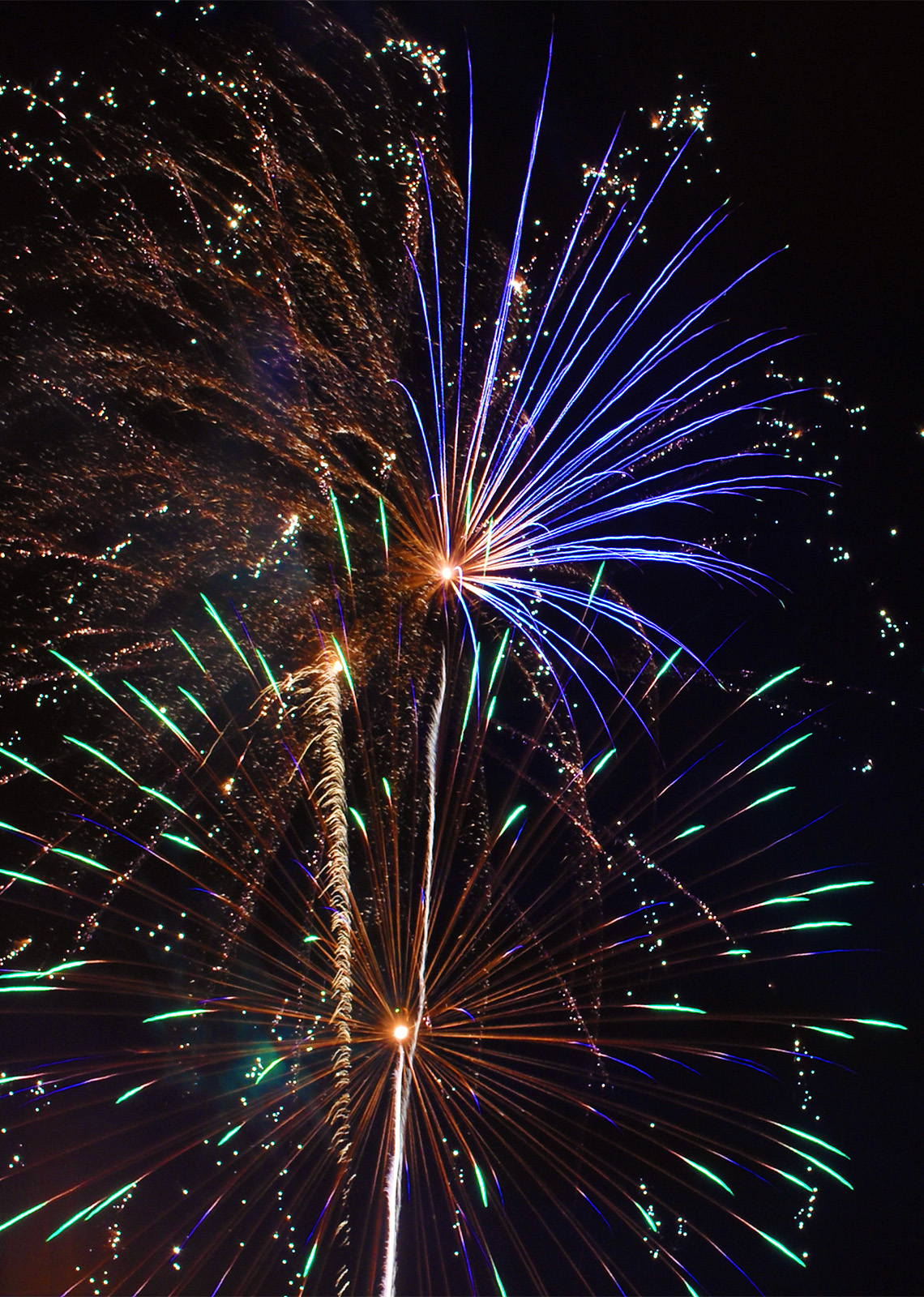 Learn how to shoot fireworks with your camera.