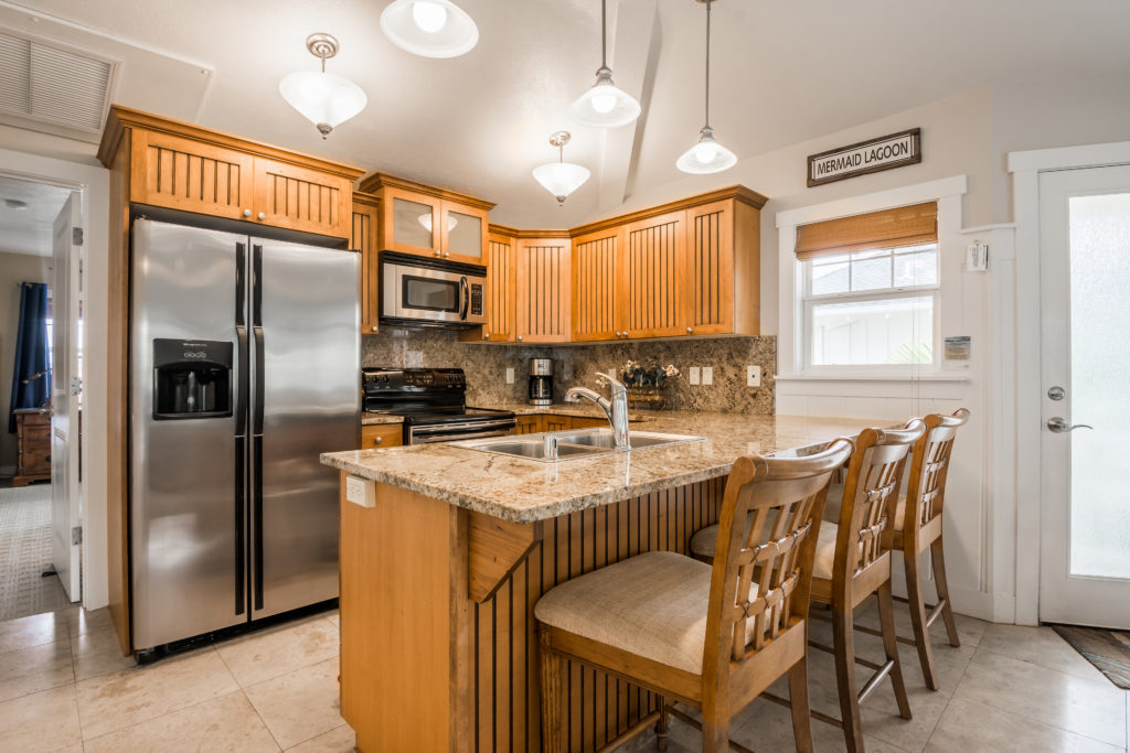 Princeville vacation rental, North Shore, Kauai - kitchen