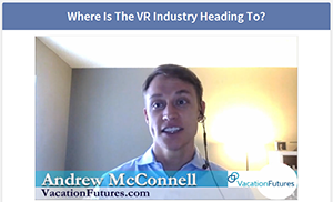 Vacation Futures interview with Andrew McConnell - #VRWS2014 #vacationrentals #marketingtips #vacationrentalmarketing #vacationrentalworldsummit