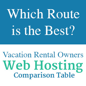 Which Website Hosting Route is the Best - a Comparison by Marcink Designs, Villa Marketers, and Web Chalet