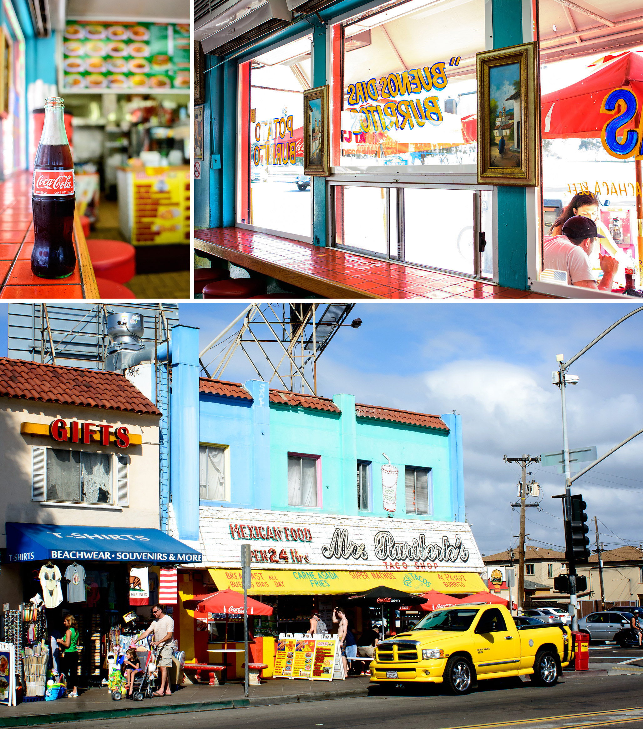 Mr. Ruribertos Taco Shop in San Diego, California (photos by Tyann Marcink)