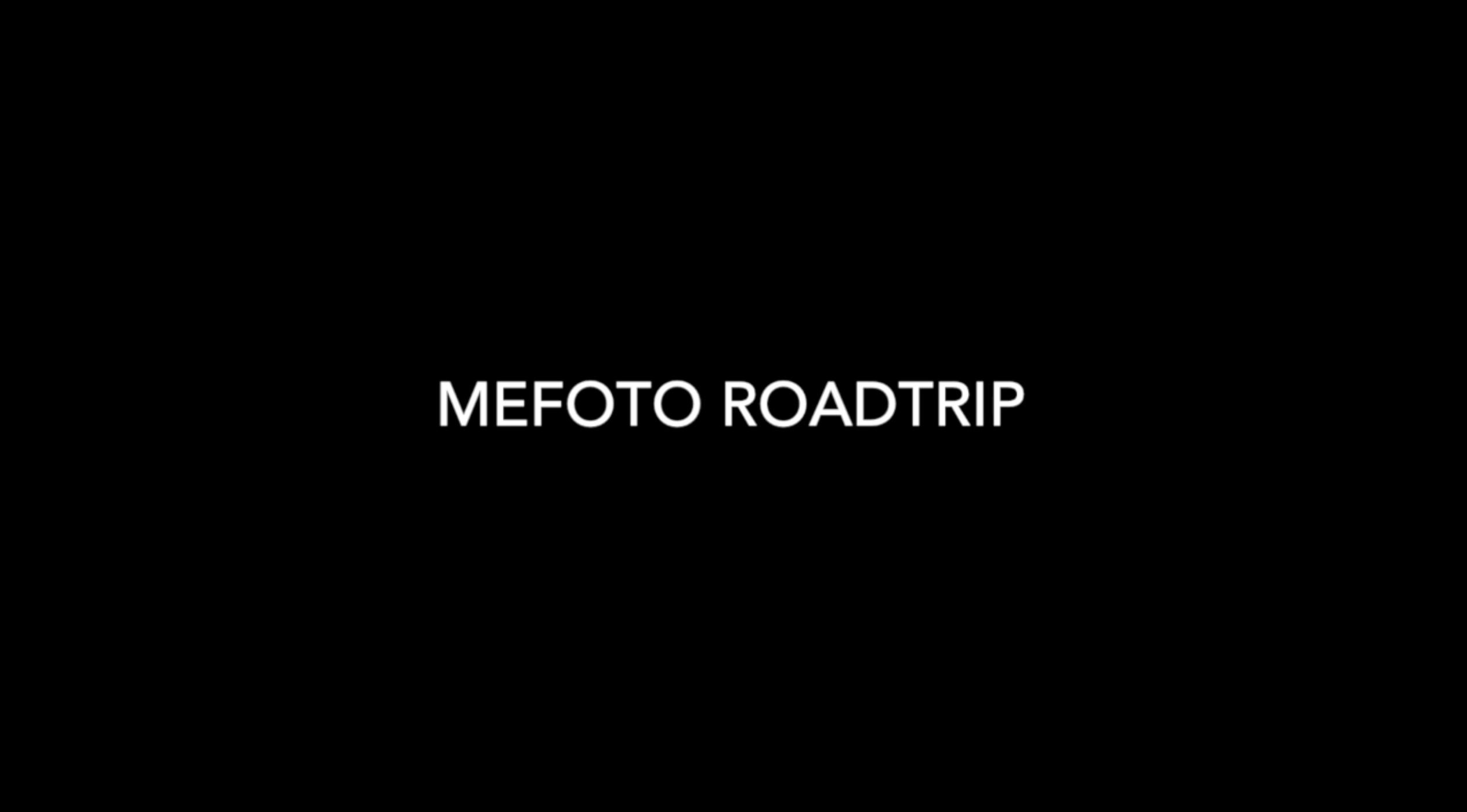 Building my MeFOTO RoadTrip tripod.