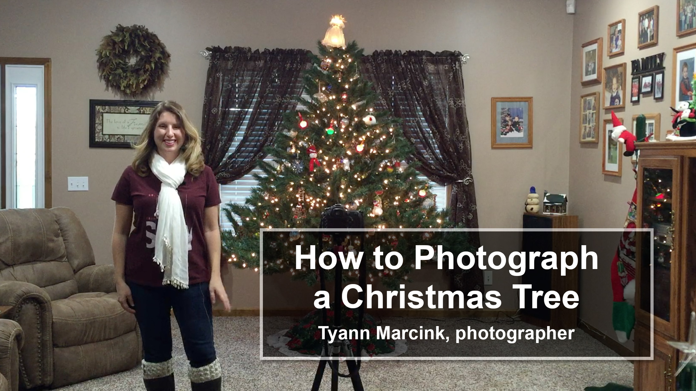 How to Photography Your Christmas Tree