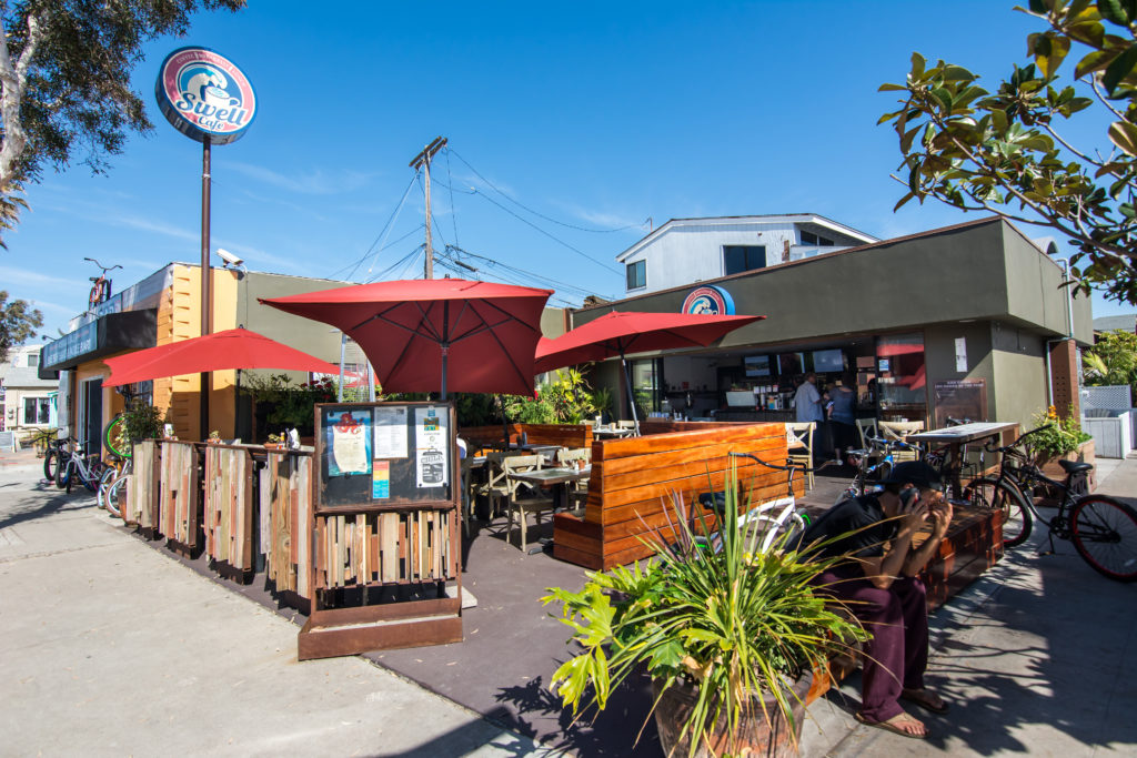 Swell Coffee Cafe, Mission Beach, San Diego, California