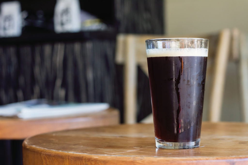 Craft beer and coffee at Swell Coffee Cafe, Mission Beach, San Diego, California