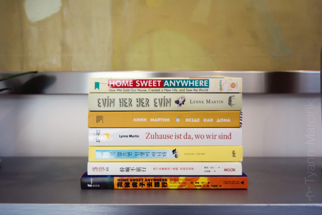Home Sweet Anywhere in seven different languages