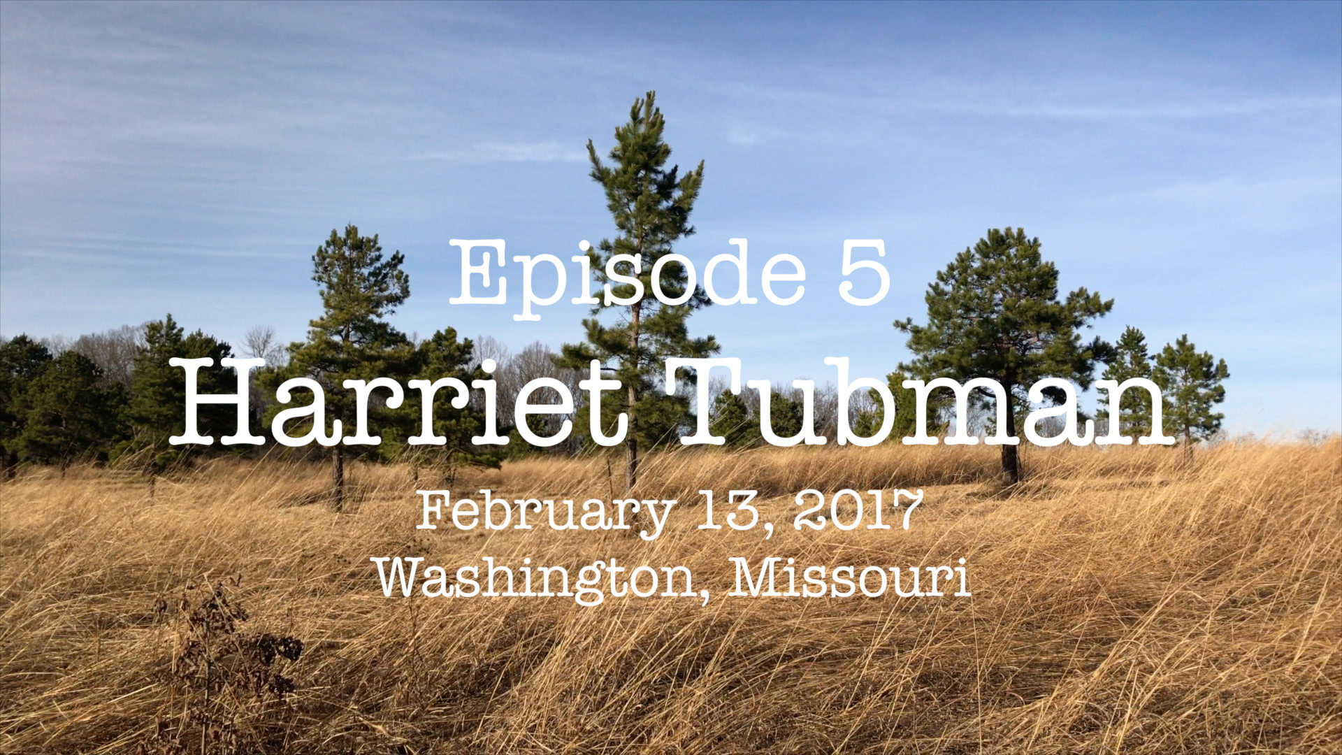 Vlog Episode 5: Harriet Tubman