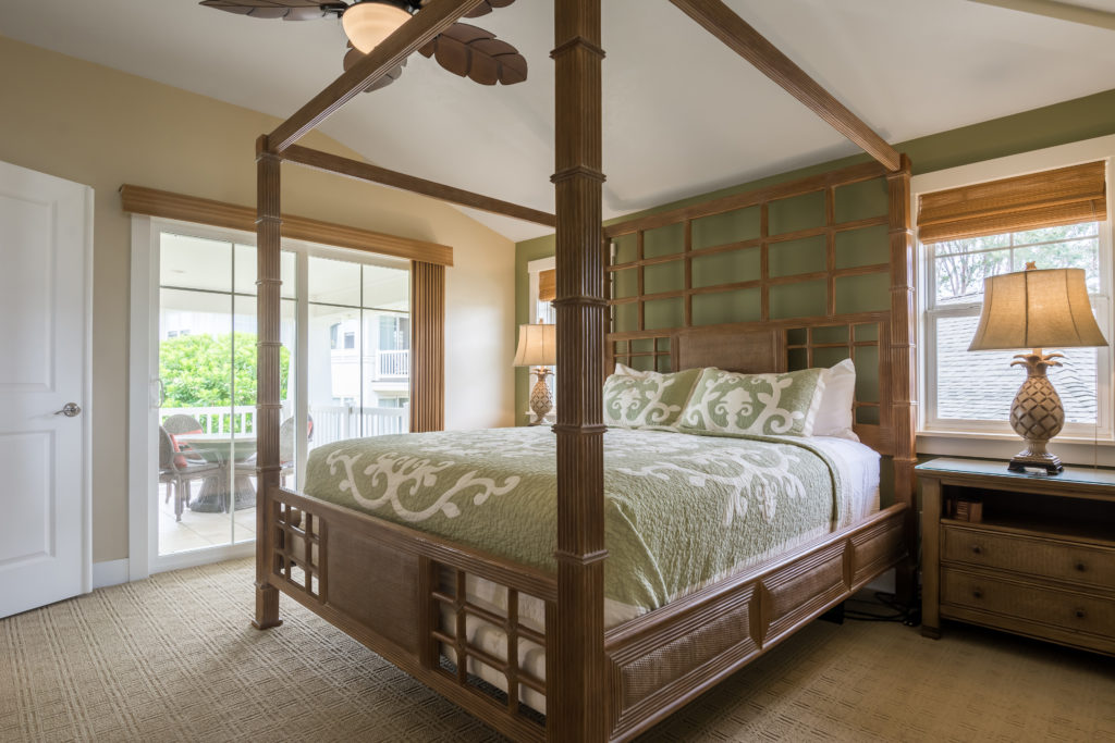 Princeville vacation rental, North Shore, Kauai - master bedroom